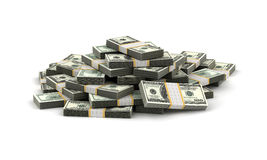 Stack of Dollar. (computer generated image Stock Photo