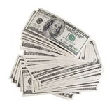 Stack of dollars. Stock Photography