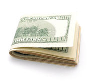 Stack of dollars Royalty Free Stock Photography