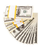The stack of dollars Stock Images