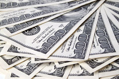 Stack of dollars Stock Images