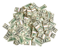Stack of dollars Stock Photos