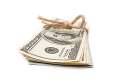 Stack of dollars Royalty Free Stock Image