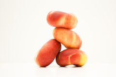 Stack of Donut Peaches Royalty Free Stock Photos