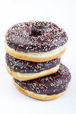 Stack of donuts Royalty Free Stock Photos
