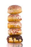 Stack of Donuts Royalty Free Stock Photo