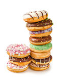 Stack of donuts Stock Images