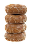 Stack of doughnuts Royalty Free Stock Image