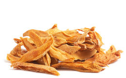 Stack of dried mango slices Stock Photo
