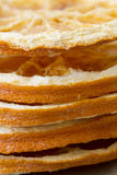 Stack of Dried Orange Slices Royalty Free Stock Photos