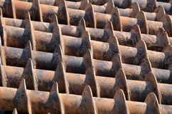 Stack of drills texture Stock Images