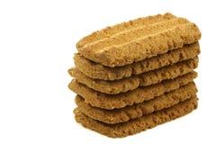 Stack of Dutch cookies called Bastogne koek  Stock Photos