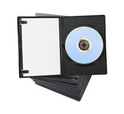 Stack of dvd Stock Image