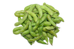 Stack of edamame royalty free stock photography