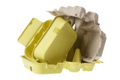 Stack of Egg Cartons Royalty Free Stock Image