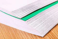 Stack of envelopes Royalty Free Stock Photography