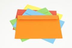 Stack of envelopes Royalty Free Stock Photo