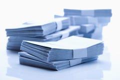 Stack of envelopes Royalty Free Stock Photos