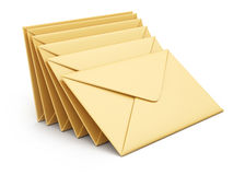 Stack of envelopes Stock Photos