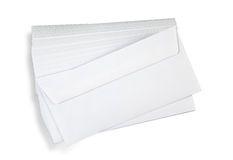 Stack of  envelopes. Stock Image