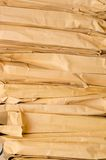 Stack of envelops. The Stack of brow envelops background Royalty Free Stock Images