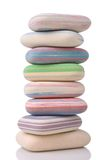 Stack of erasers Stock Images
