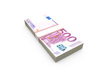 Stack of Euro Bills Royalty Free Stock Image