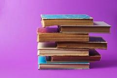 Stack f books
