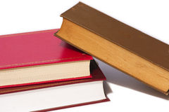 Stack of fallen books Stock Images