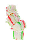 Stack Festive Chewy Candy Stock Images