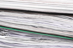 Stack of file folders Stock Photos