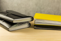 Stack of file folders Stock Images