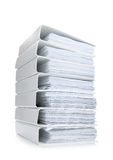 Stack file Office binder Royalty Free Stock Images