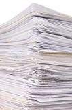 Stack of files Royalty Free Stock Photo