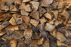 Stack Fire Wood Stock Photography