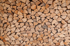 Stack of Fire wood Royalty Free Stock Photography