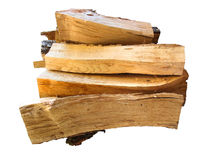 Stack of firewood  logs for the stove Stock Photography