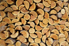 Stack of firewood Stock Image