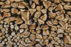 Stack of firewood textured background. Graphics designs vector illustration