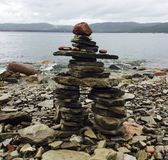 Rock Inukshuk royalty free stock images