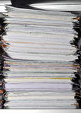 Stack of folders Stock Image