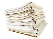 Stack of folders Royalty Free Stock Photos