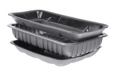 Stack of Food Trays Royalty Free Stock Photo