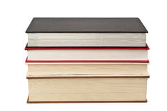 Stack of four books Royalty Free Stock Photos