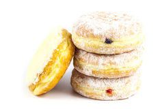Stack of four donut Royalty Free Stock Images