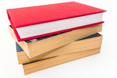 Stack of Four Reading Books Stock Images