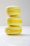 Stack french macaroons Stock Photography