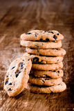 Stack of fresh baked cookies Stock Photography