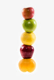 Stack of fruits Royalty Free Stock Photo