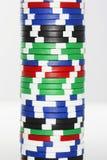 Stack Of Gambling Chips Royalty Free Stock Photos